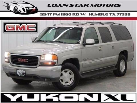 2004 GMC Yukon XL for sale in Houston, TX
