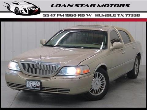2007 Lincoln Town Car for sale in Houston, TX