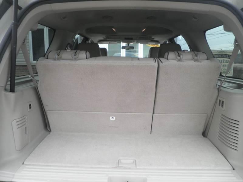 2008 Lincoln Navigator 4dr SUV 4WD - Springfield WI