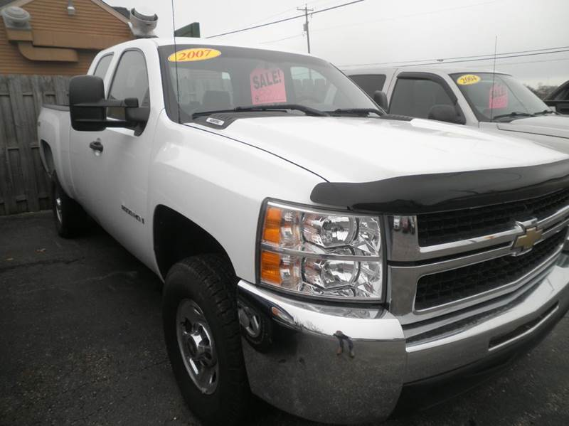 2007 Chevrolet Silverado 2500HD Work Truck 4dr Extended Cab 4WD SB - Springfield WI