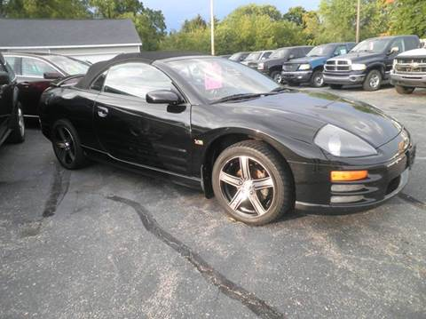 2002 Mitsubishi Eclipse Spyder for sale in Springfield, WI