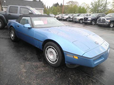 1988 Chevrolet Corvette for sale in Springfield, WI