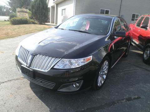 2012 Lincoln MKS for sale in Springfield, WI