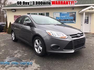 2013 Ford Focus for sale in Rome, NY