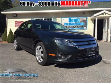 2010 Ford Fusion for sale in Rome, NY