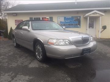 2007 Lincoln Town Car for sale in Rome, NY