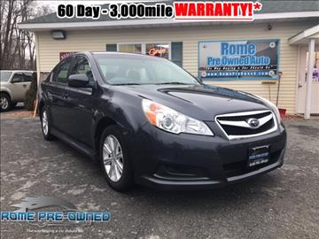 2012 Subaru Legacy for sale in Rome, NY