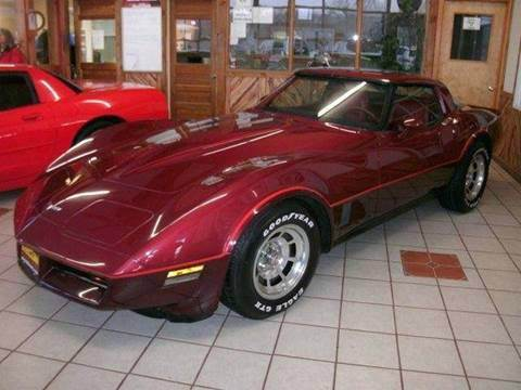 1981 Chevrolet Corvette Base 2dr Coupe - Boonville MO
