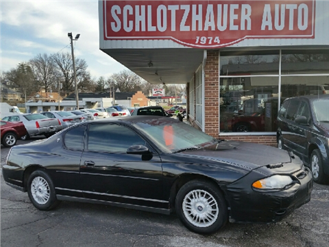 2001 Chevrolet Monte Carlo for sale in Boonville, MO