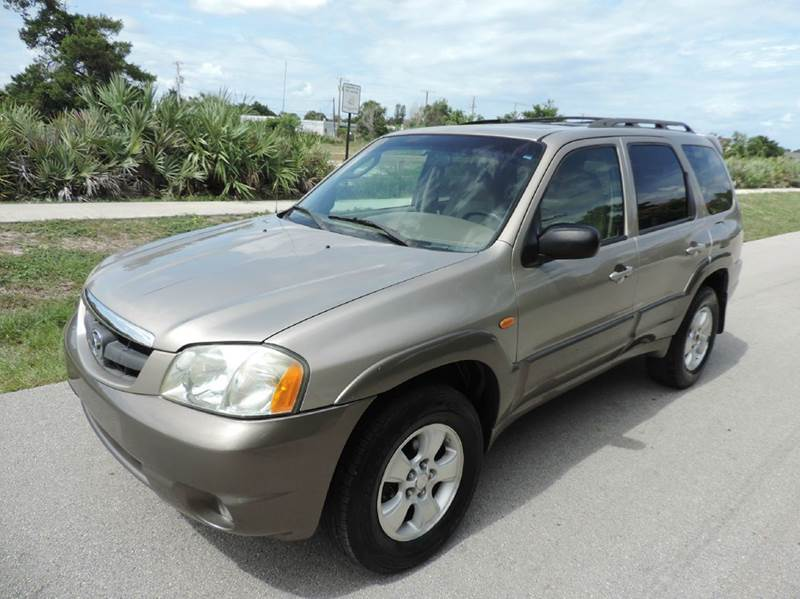 2001 mazda tribute es v6 2wd 4dr suv in pompano beach fl goval auto sales. Black Bedroom Furniture Sets. Home Design Ideas