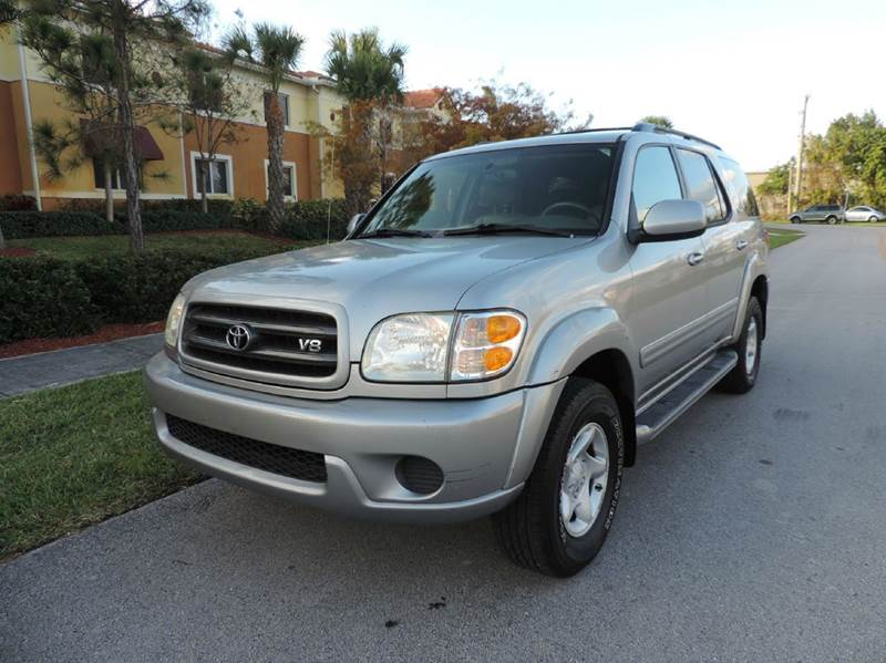 2002 toyota sequoia sr5 sr5 4wd 4dr suv in pompano beach. Black Bedroom Furniture Sets. Home Design Ideas