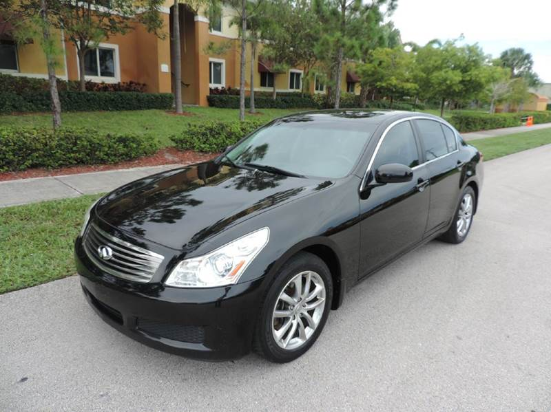 2008 infiniti g35 awd x 4dr sedan in pompano beach fl. Black Bedroom Furniture Sets. Home Design Ideas