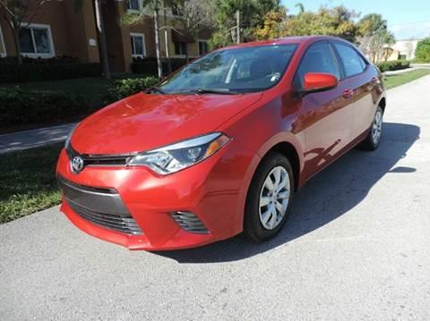2016 Toyota Corolla for sale in Pompano Beach, FL