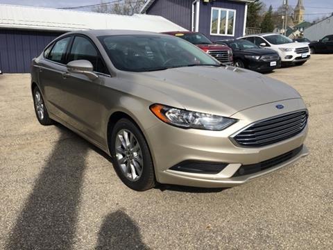 2017 Ford Fusion for sale in Boscobel, WI
