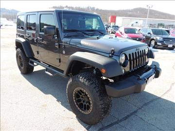 2016 Jeep Wrangler Unlimited for sale in Boscobel, WI