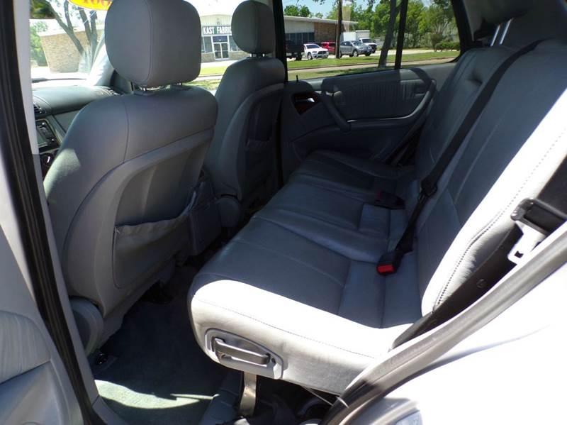 2001 Mercedes-Benz M-Class ML 320 AWD 4MATIC 4dr SUV - Pasadena TX
