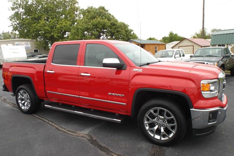 2014 GMC Sierra 1500 4x4 SLT 4dr Crew Cab 5.8 ft. SB - Chanute KS