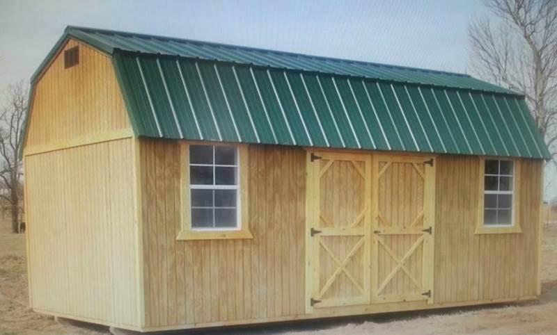 2016 Backyard Portable buildings Cabins, Garages, Storage, Tea   - Chanute KS