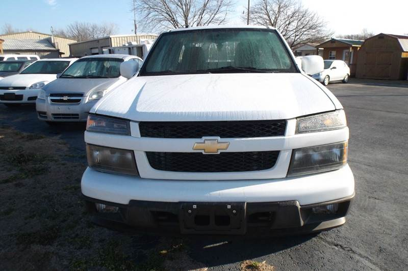 2012 Chevrolet Colorado 4x4 Work Truck 4dr Extended Cab - Chanute KS