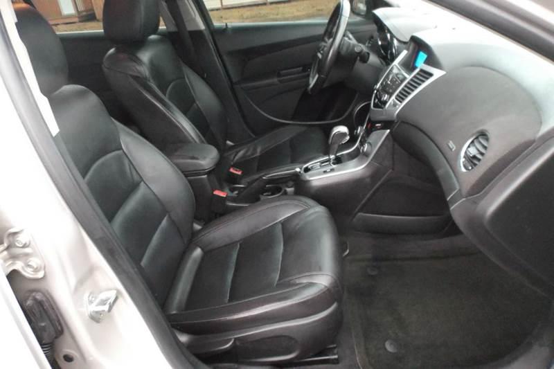 2012 Chevrolet Cruze LTZ 4dr Sedan w/1LZ - Chanute KS