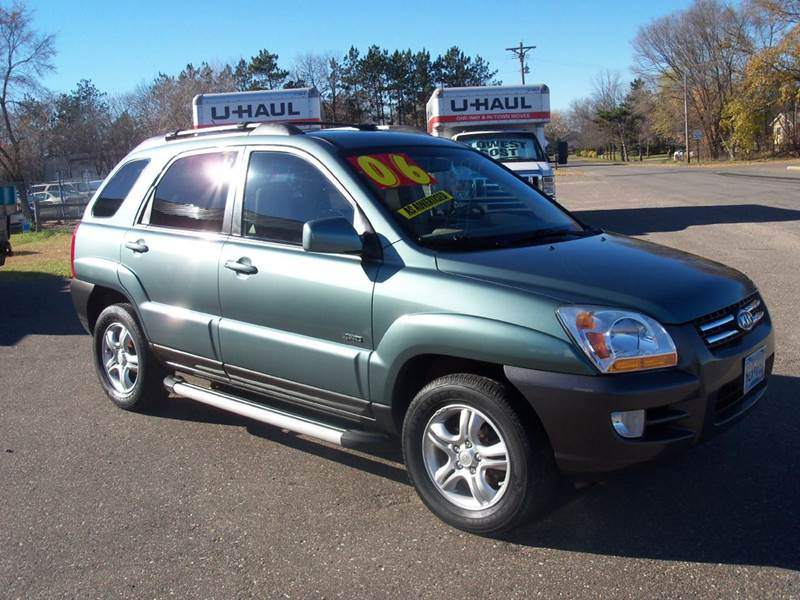 2006 kia sportage lx 4dr suv 4wd w v6 in elk river mn. Black Bedroom Furniture Sets. Home Design Ideas