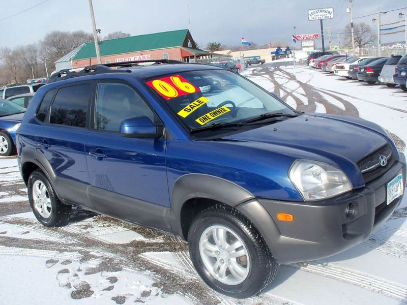 2006 Hyundai Tucson Gls 4dr Suv In Elk River Mn Country