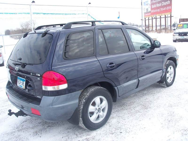 2005 hyundai santa fe awd gls 4dr suv in elk river mn. Black Bedroom Furniture Sets. Home Design Ideas