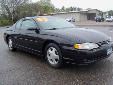 2003 Chevrolet Monte Carlo for sale in Elk River, MN