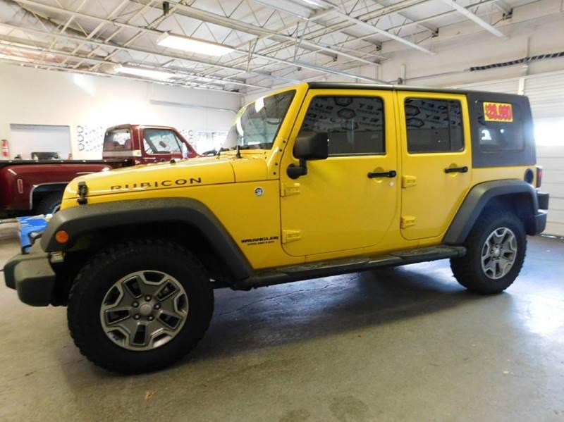 2008 jeep wrangler unlimited 4x4 rubicon 4dr suv in reno for Budget motors reno nv