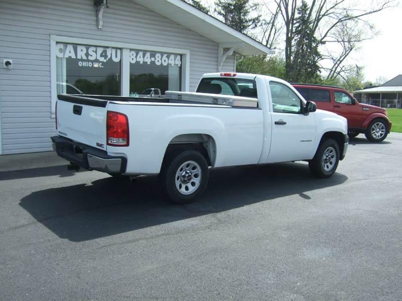 2011 GMC Sierra 1500 4x2 Work Truck 2dr Regular Cab 8 ft. LB - Liberty Township OH