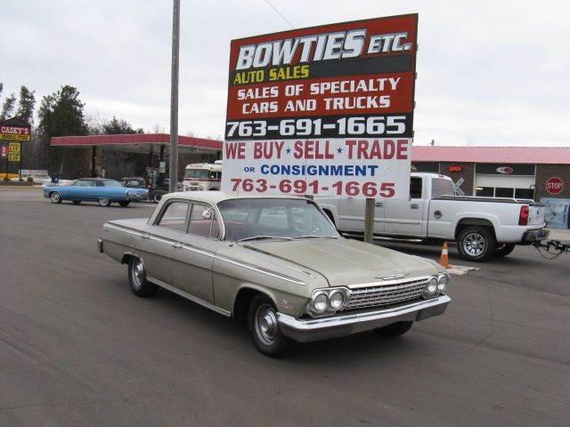 1962 Chevrolet Impala Sedan In Cambridge Mn Bowties Etc Inc