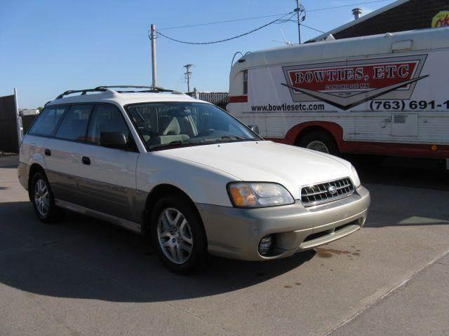 2003 Subaru Outback Awd 4dr Wagon In Cambridge Mn Bowties Etc Inc