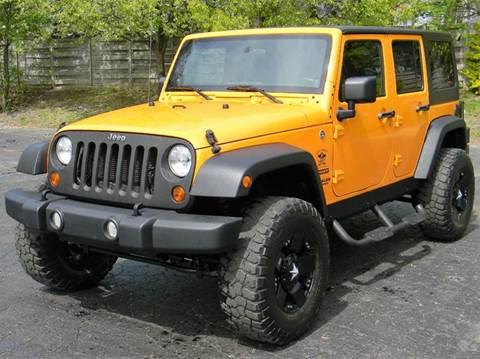 2012 Jeep Wrangler Unlimited for sale in Fort Gratiot, MI