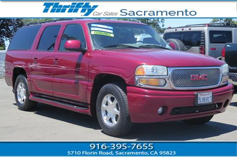 2004 GMC Yukon XL for sale in Sacramento CA