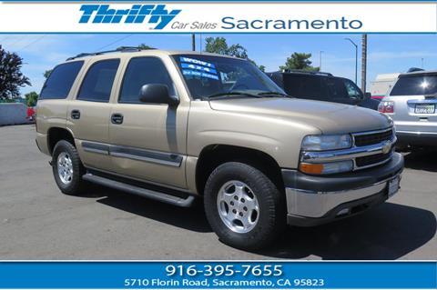 2005 Chevrolet Tahoe for sale in Sacramento CA