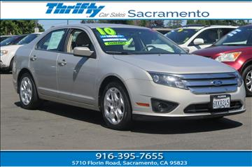 2010 Ford Fusion for sale in Sacramento, CA
