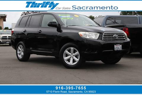 2008 Toyota Highlander For Sale >> 2008 Toyota Highlander For Sale In Sacramento Ca