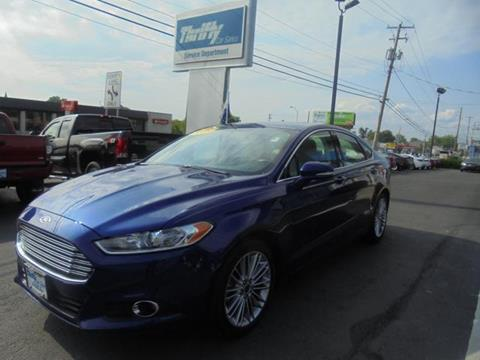 2015 Ford Fusion for sale in Coopersburg PA