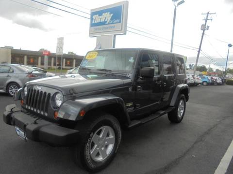 2007 Jeep Wrangler Unlimited for sale in Coopersburg PA