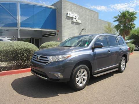 2012 Toyota Highlander for sale in Gilbert, AZ