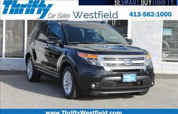 2014 Ford Explorer for sale in Westfield, MA