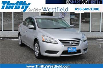 2015 Nissan Sentra for sale in Westfield, MA