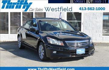 2012 Honda Accord for sale in Westfield, MA