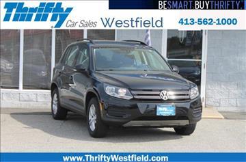 2016 Volkswagen Tiguan for sale in Westfield, MA