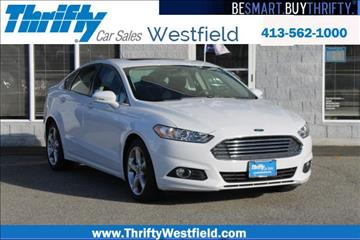 2015 Ford Fusion for sale in Westfield, MA