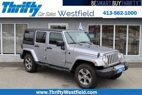 2016 Jeep Wrangler Unlimited for sale in Westfield, MA