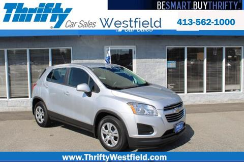 2015 Chevrolet Trax for sale in Westfield, MA