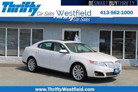 2010 Lincoln MKS for sale in Westfield, MA