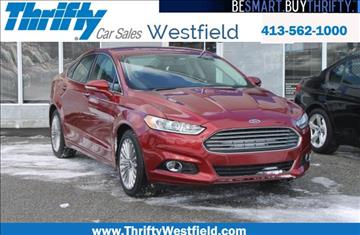 2016 Ford Fusion for sale in Westfield, MA