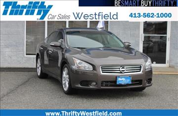 2014 Nissan Maxima for sale in Westfield, MA